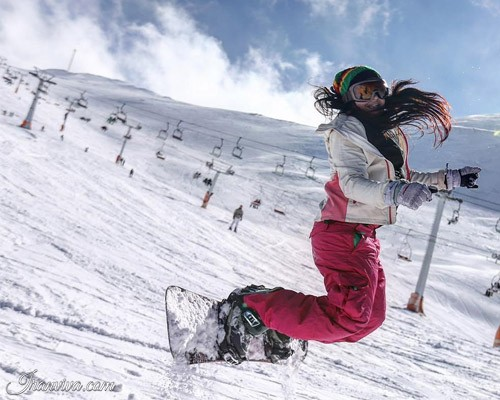 skiing in Iran amazing experience in middle east?!