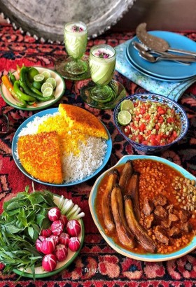 Persian gastronomy + cultural tour